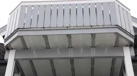 Terrasse undertak